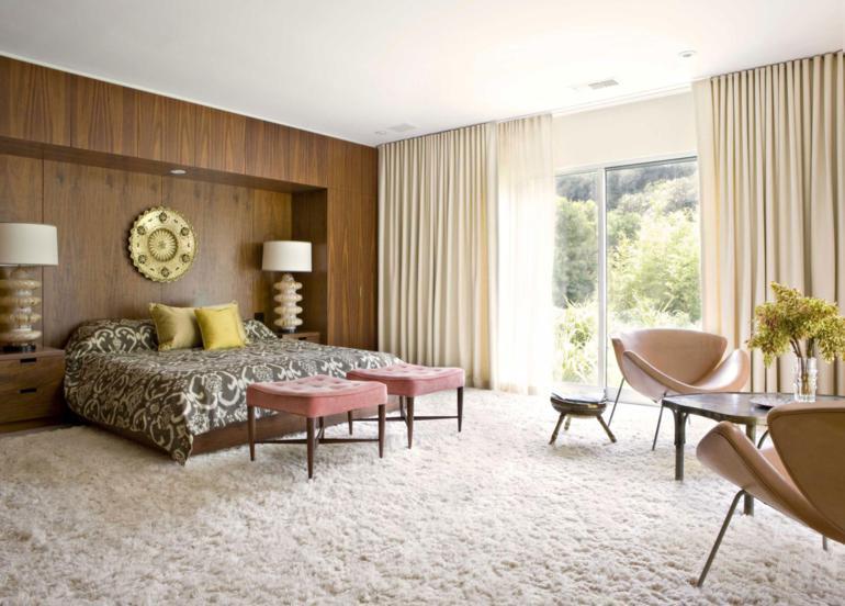 dormitorio estilo retro años ochenta