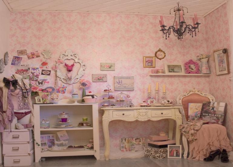 Habitaciones vintage ideas para una decoraci n retro - Dormitorio retro ...