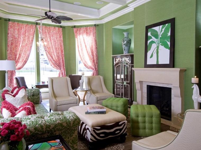 Colores de pintura 50 ideas para el salón