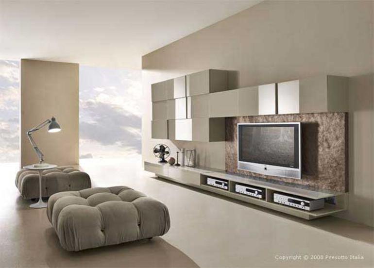 salón diseño minimalista moderno