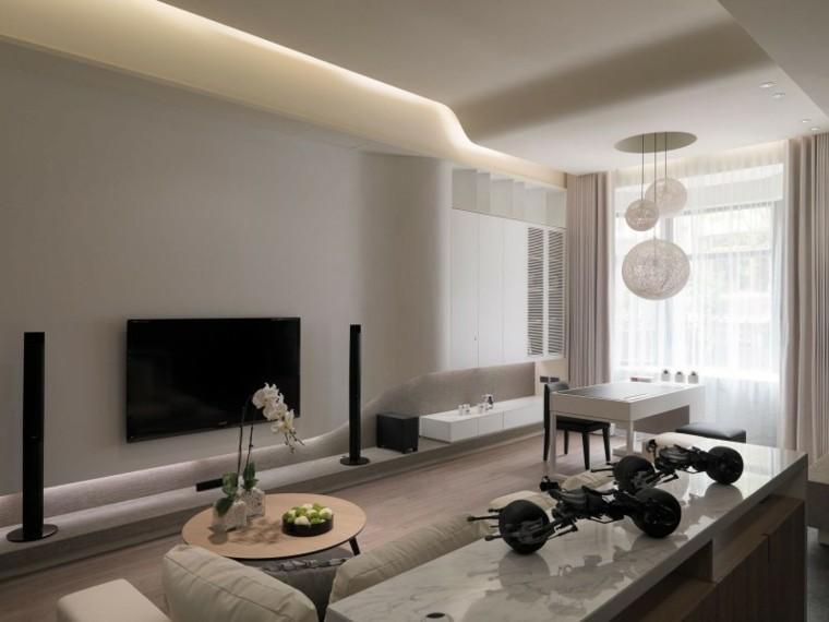 dsieño salon pequeño moderno