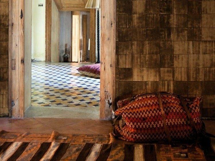 efecto madera optico rustico mueble