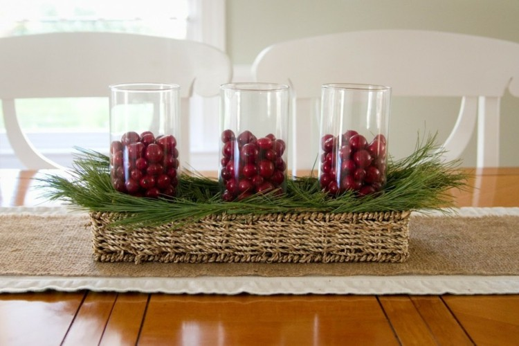 elegantes estilos flores casa cristal navidad vasijas