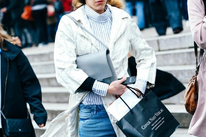 tendencias invierno 2015 abrigo blanco ideas