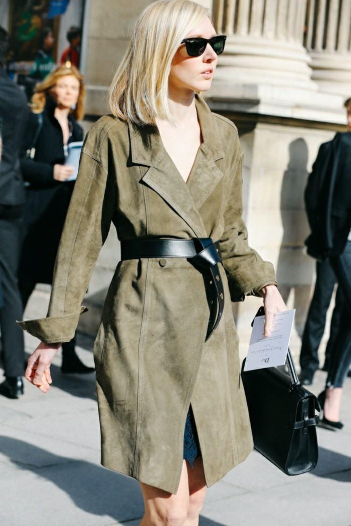 ropa invierno 2015 abrigo color original ideas
