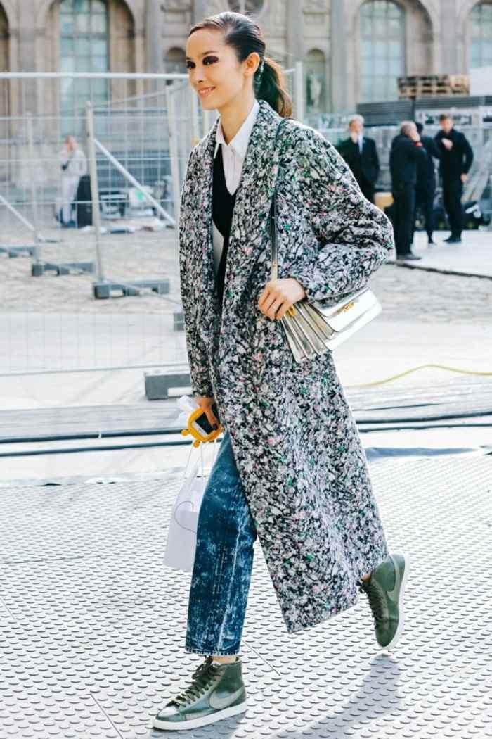 ropa invierno 2015 abrigo largo original ideas