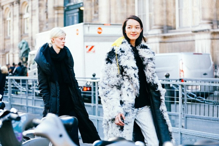 ropa invierno 2015 abrigo pelos original ideas