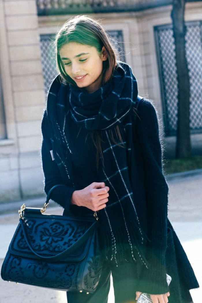 tendencias invierno 2015 chaleco negro lana ideas