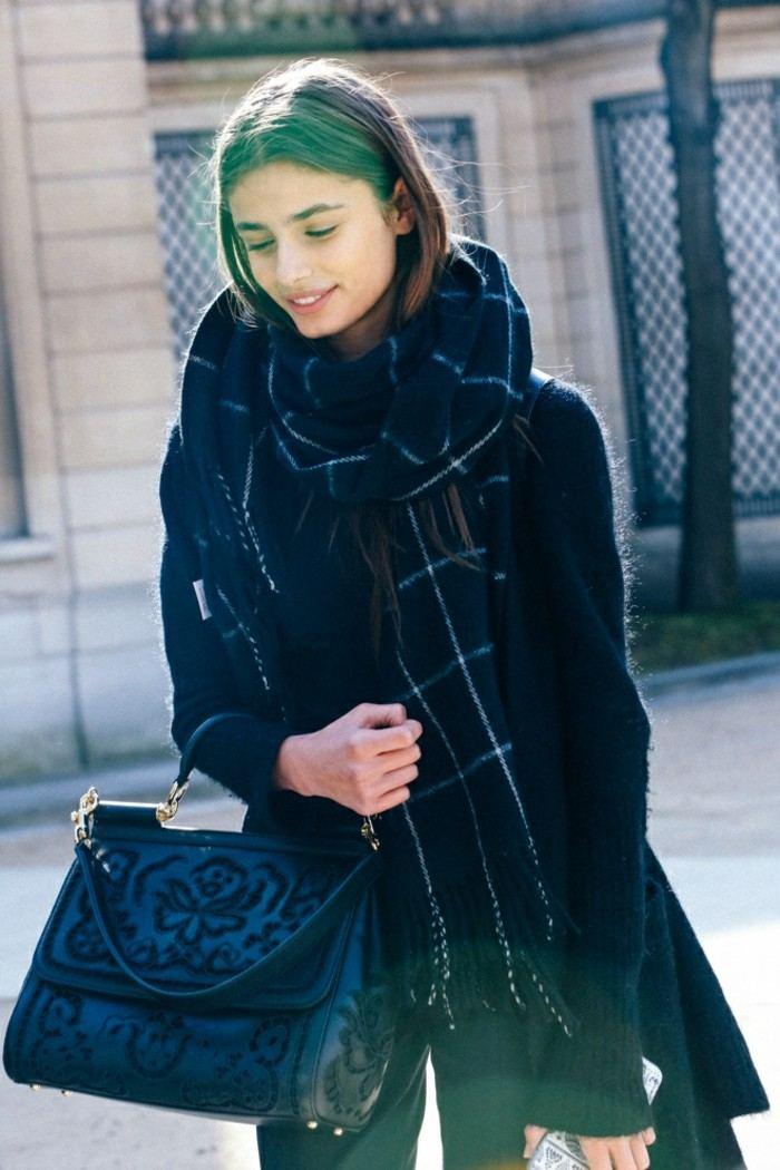 tendencias invierno 2015 chaleco negro lana ideas