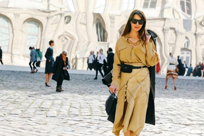 tendencias invierno 2015 falda larga color amarillo ideas
