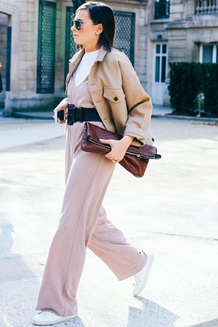 ropa invierno 2015 mono color rosa claro ideas