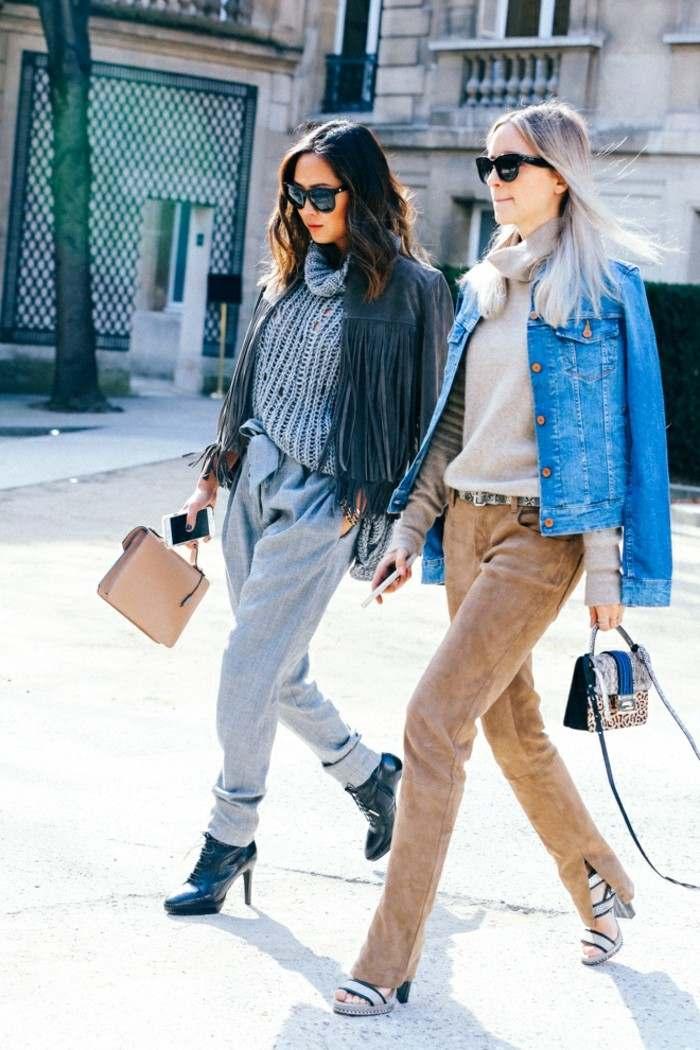 ropa invierno 2015 pantalones preciosos abrigos modernos ideas
