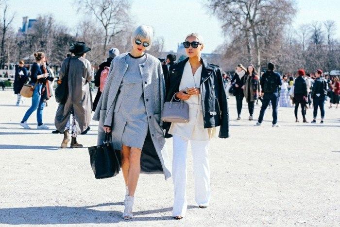 invierno 2015 vestido gris moderno ideas