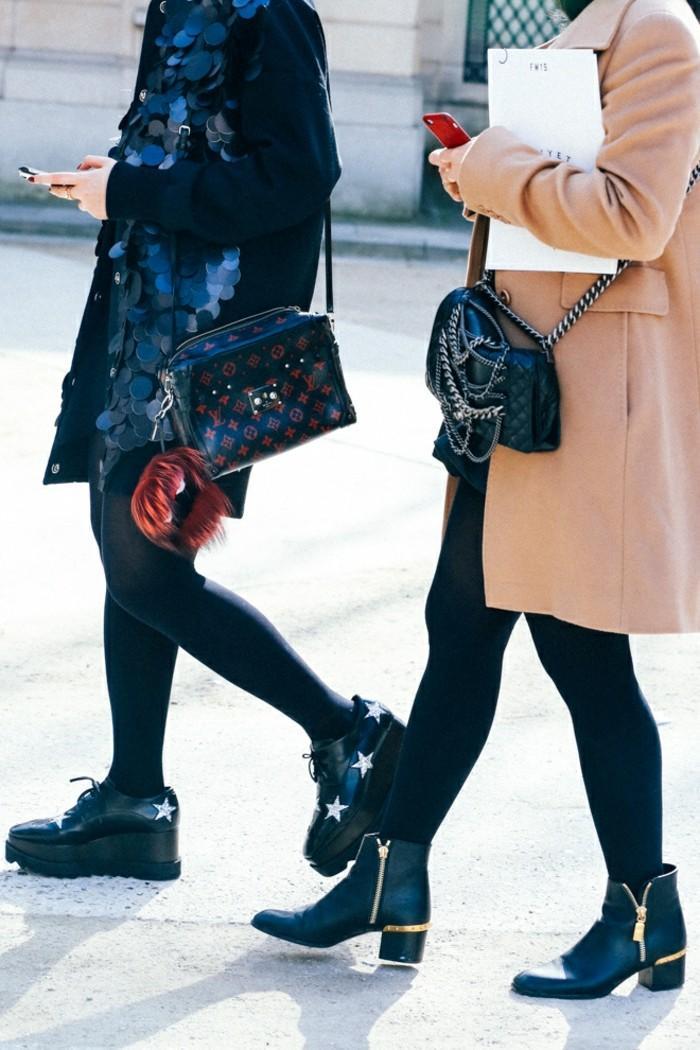 ropa invierno 2015 vestido lentejuelas negras grandes ideas