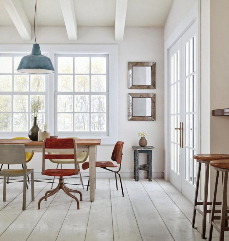 espacio en blanco alfombras colorido lamparas