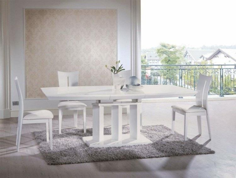 espacio en blanco alfombras contemporaneo plantas