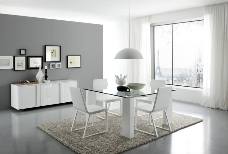 espacio en blanco alfombras gris contemporaneo