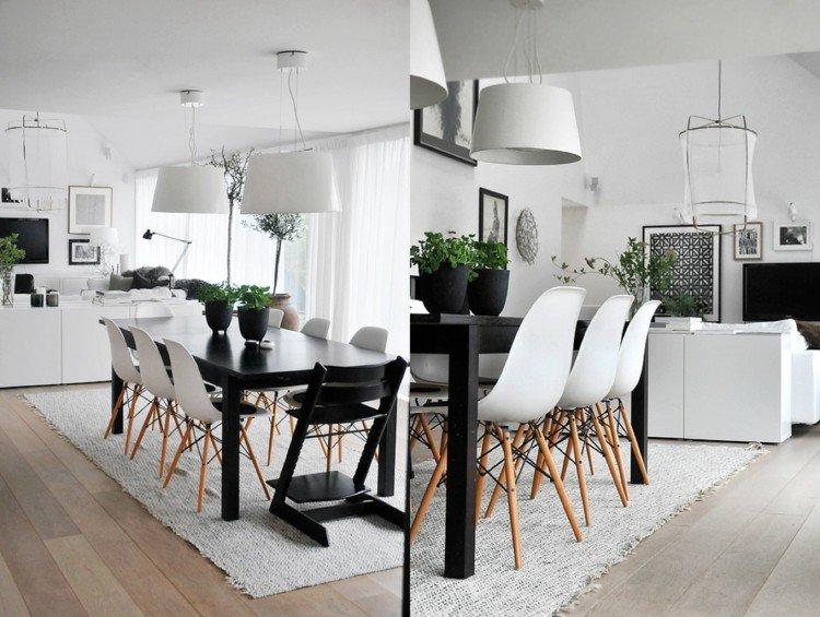 espacio en blanco alfombras ramas madera