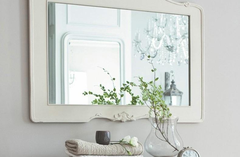diseos modernos de espejos para baos