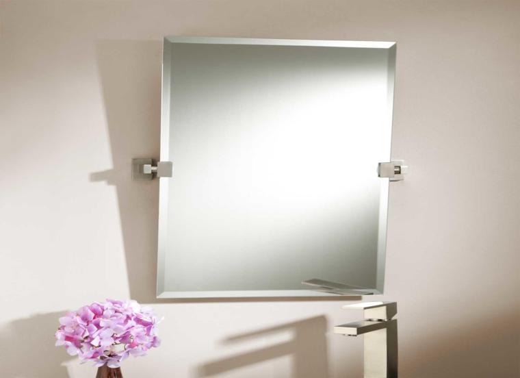 esoejo moderno bao cuadrado bao moderno espejo dorado