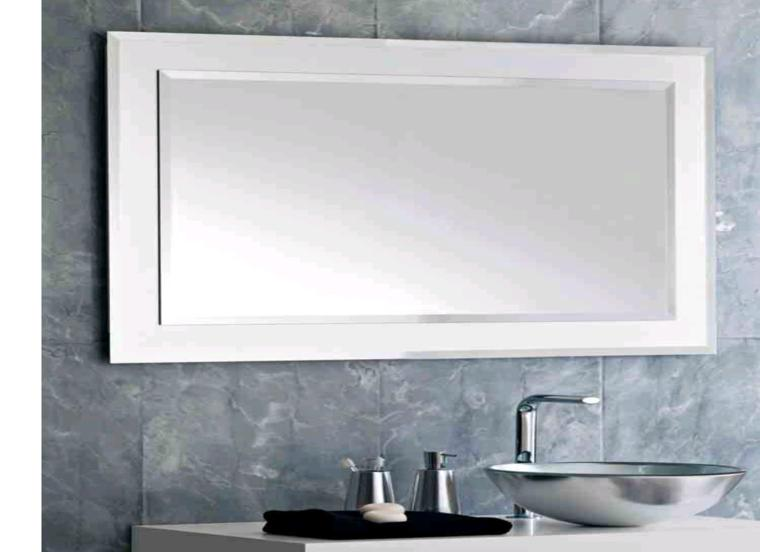 Espejos para ba os los 38 modelos m s modernos for Espejo rectangular grande
