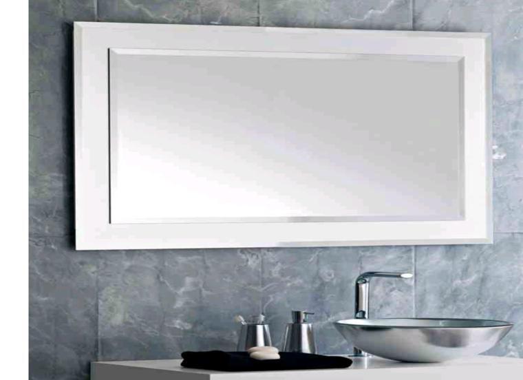 espejo cuarto baño rectangular