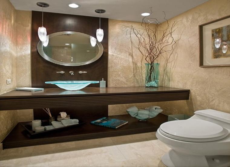 espejo cuarto baño ovalado