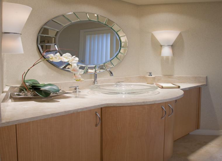 Espejos para ba os los 38 modelos m s modernos for Espejo redondo con marco