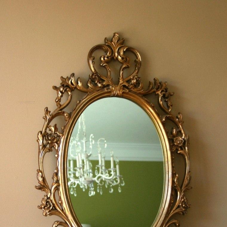 espejo estilo retro bonito diseño