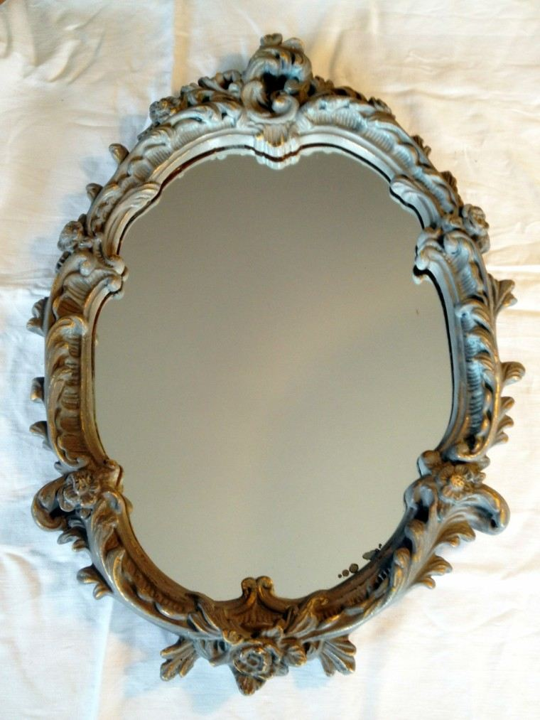 espejo estilo vintage marco envejecido