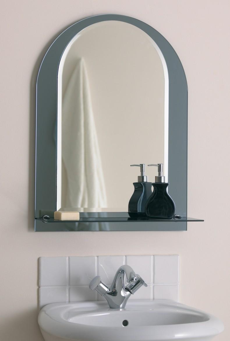 espejo marco baño moderno