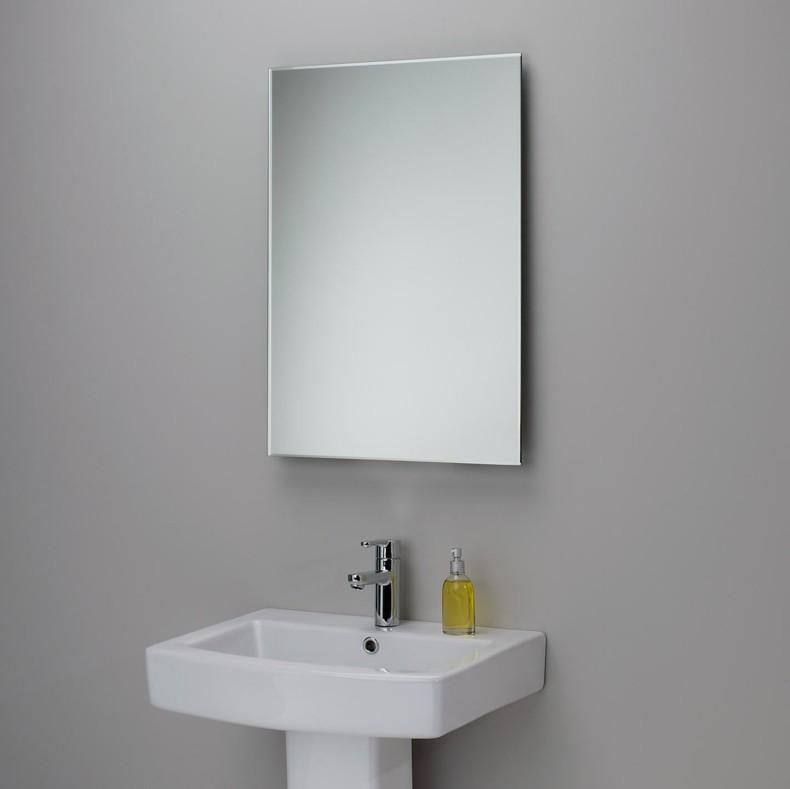 Baños Modernos Rectangulares:Espejos para baños modernos – 38 modelos con estilo