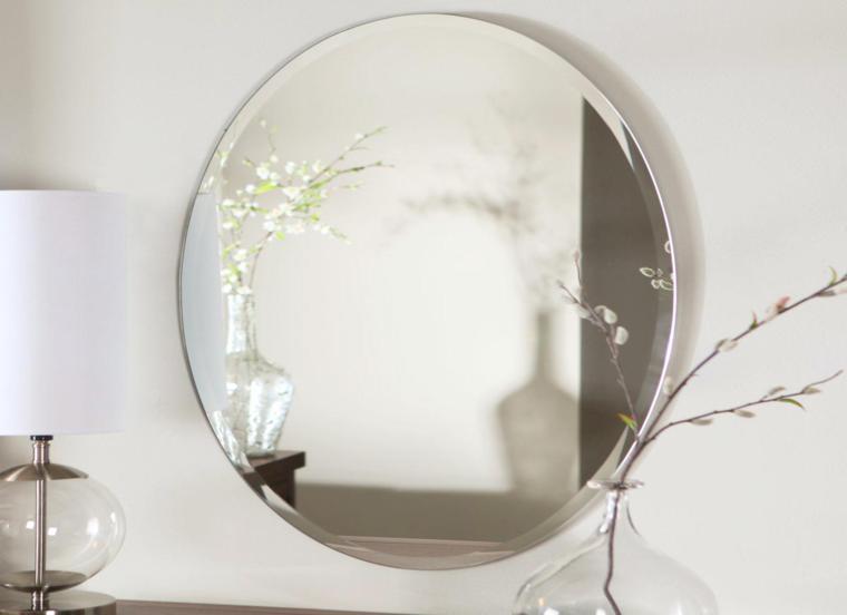 espejos modernos forma ovalada