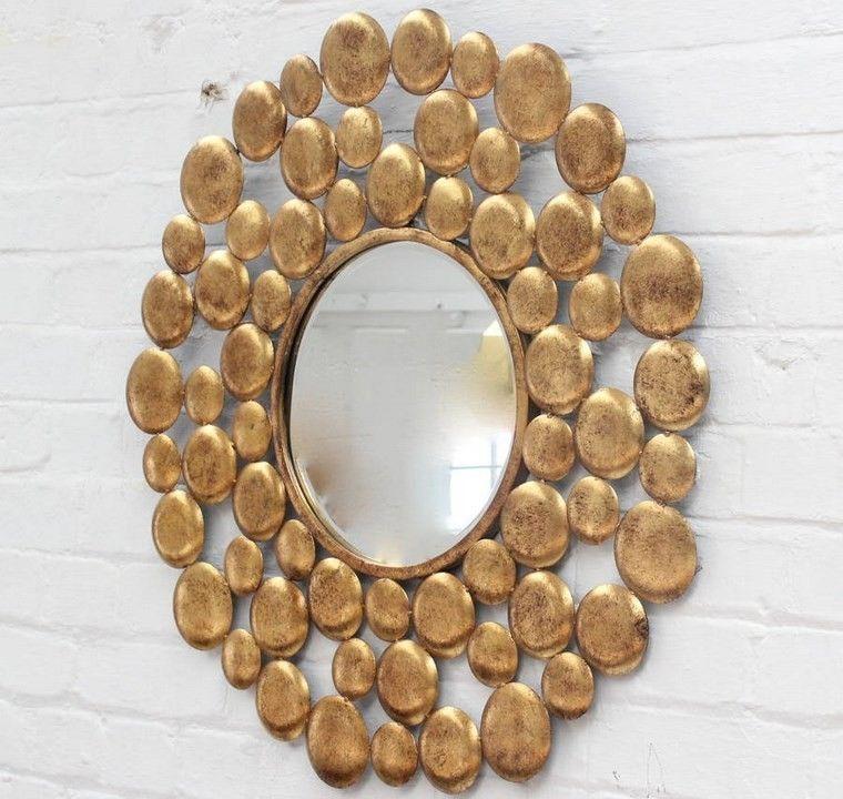 Espejos vintage 38 ideas de adornos de poca for Espejos decorativos vintage