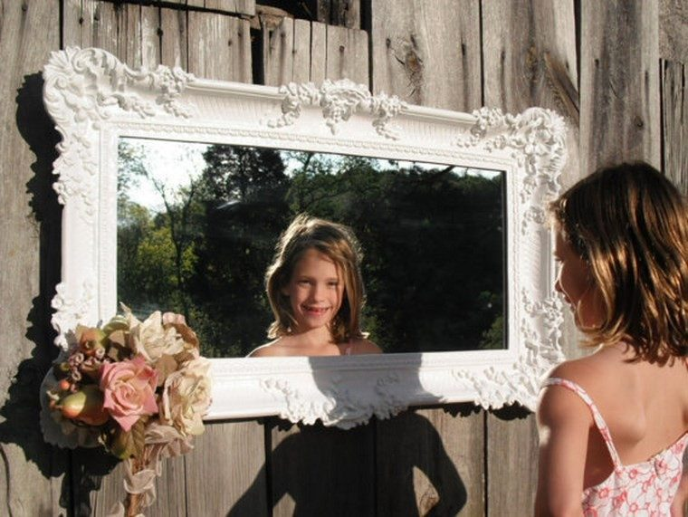 espejos vintage espejo forma rectangular ideas