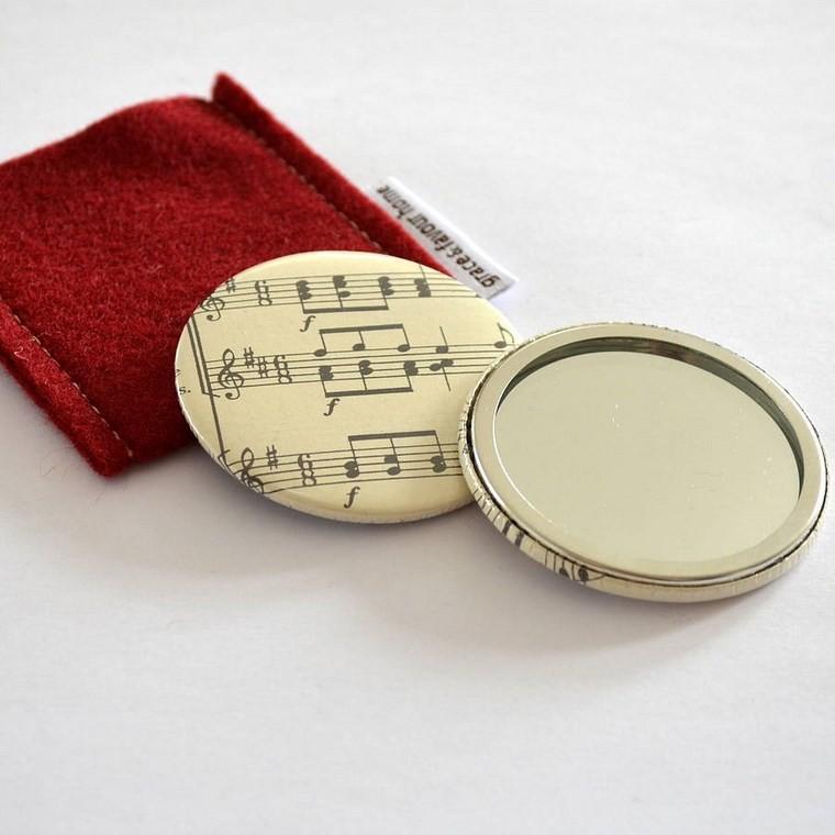 espejos vintage musical pequeno ideas