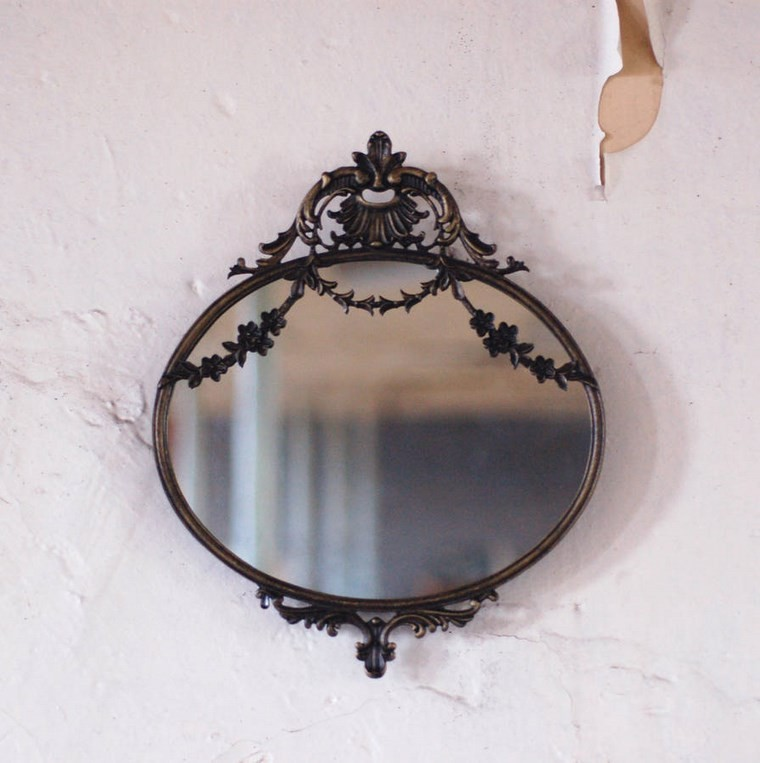 espejos vintage pequeno espejo anticuado ideas