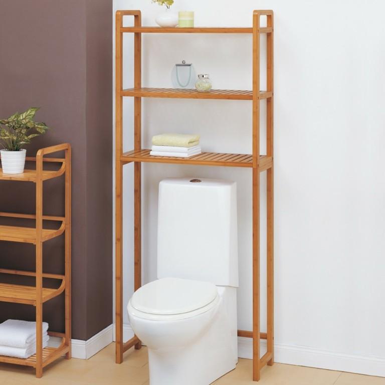 estantes de madera para el ba o On madera para estantes