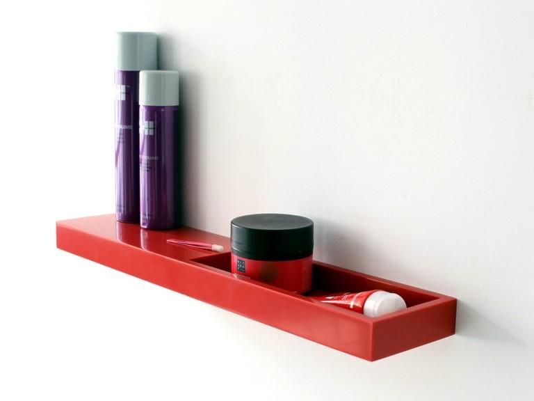 estante color rojo deco moderno