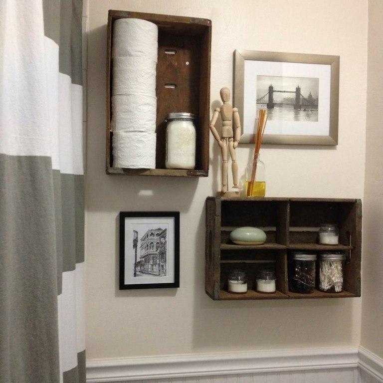 Hacer Estantes Para Baño:Estanterias para baños – 38 modelos prácticos y funcionales