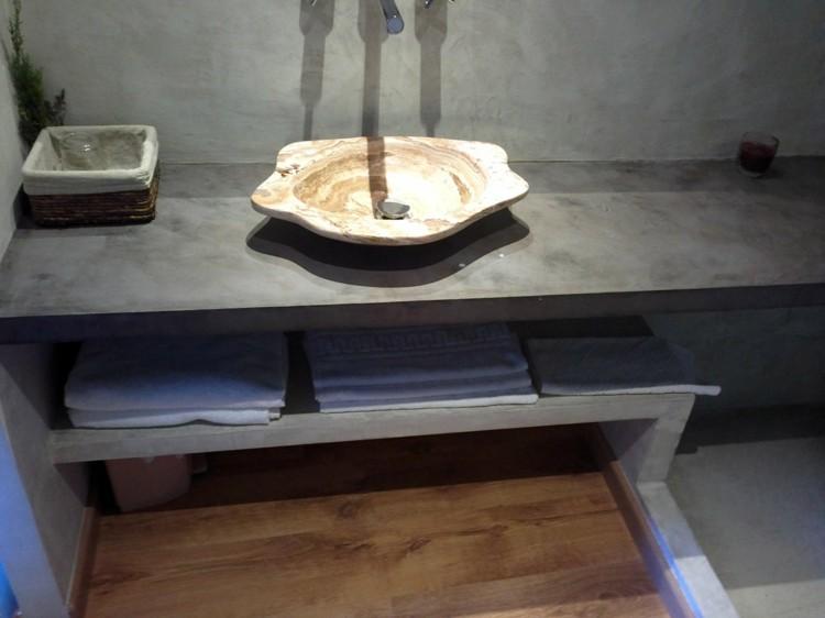 estantes interiores ideas decorado cascada madera