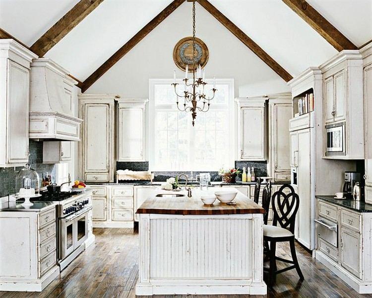 estilo cocina diseños elegante verdes troncos