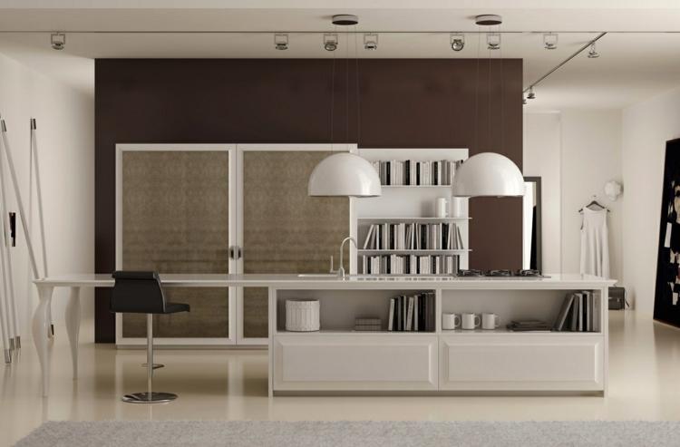 estilos variantes diseños estantes lamparas