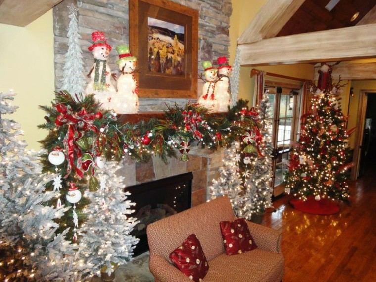 estupenda decoración salón navidad
