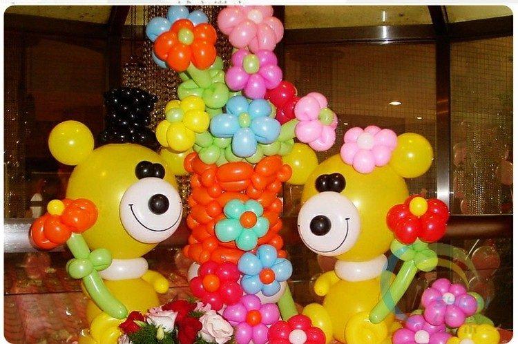 estupendos globos deco forma osos