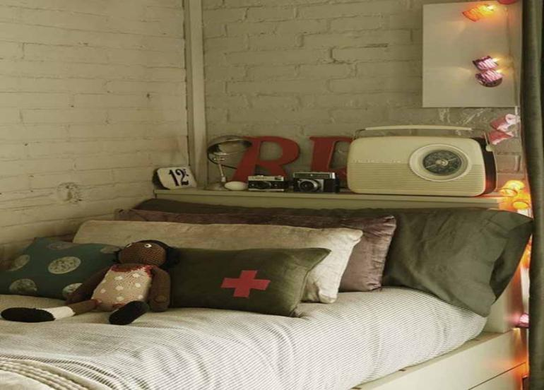 estupendo diseño dormitorio verde