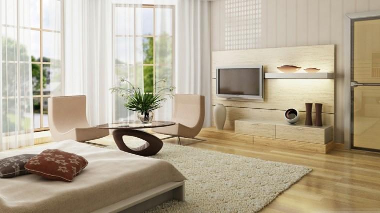 estupendo salon moderno color beige