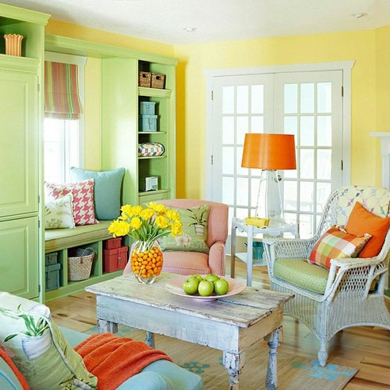 Colores para salones c mo decorar con buen gusto - Colores para salones ...