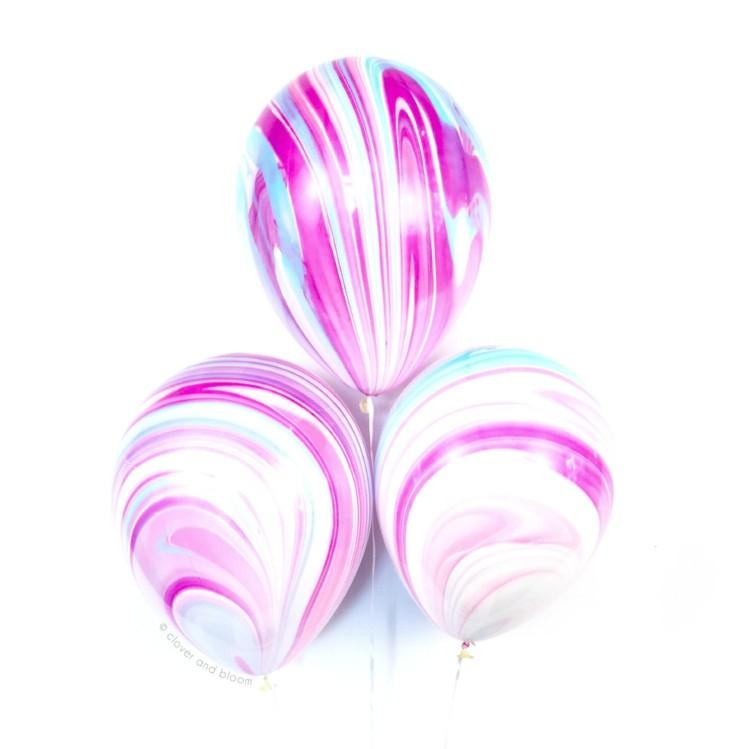 estupendos globos colores difuminados