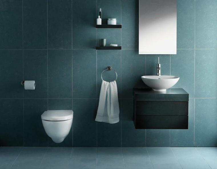 estupendos azulejos baño azules